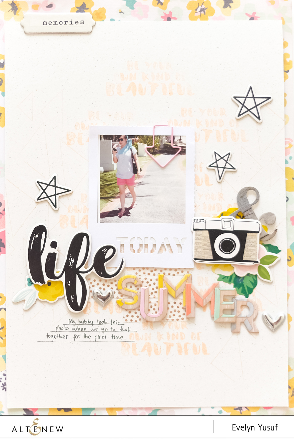 Summer Life by Evelynpy Full Layout