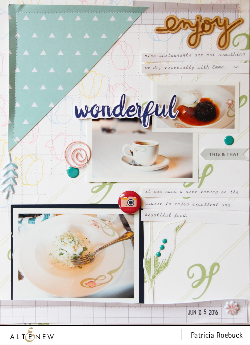 Stamping On Layout. By @paroe Stamps @altenew