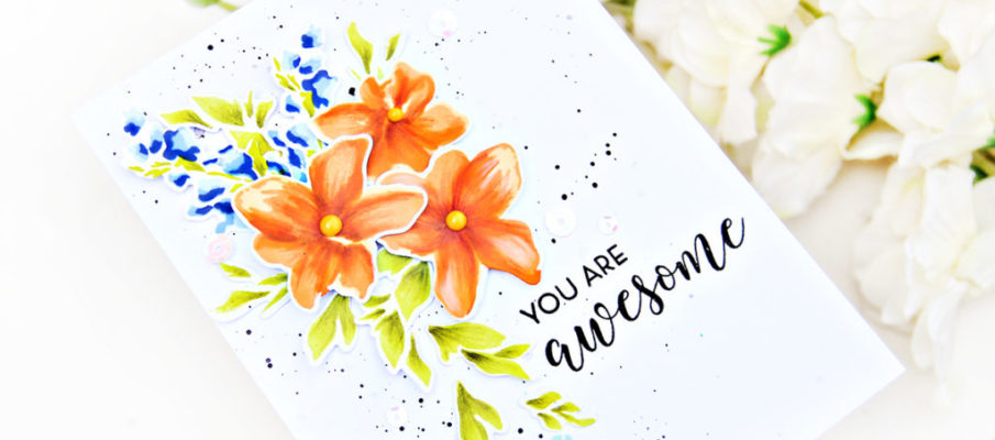 Alenew Life is Awesome Stamp Set | Erum Tasneem | @pr0digy0